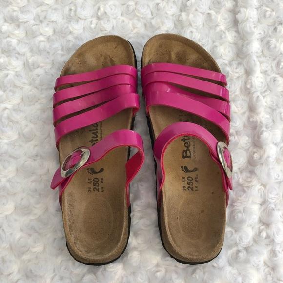 149568f3721945 Birkenstock Shoes - Birkenstock Betula pink sandals size 8. Worn once.